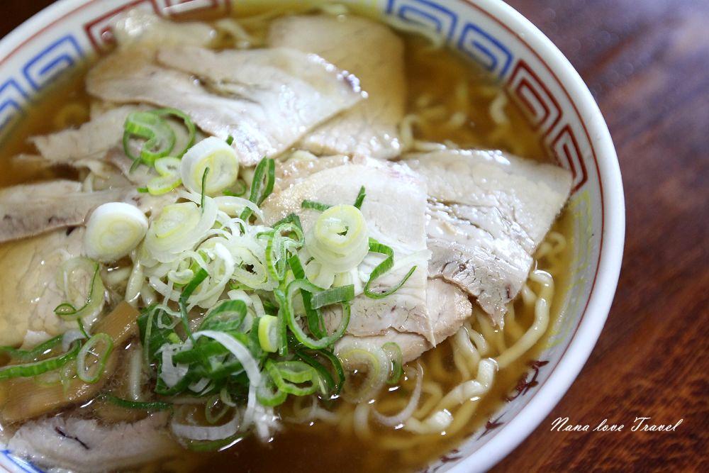 日本福島》喜多方まこと食堂拉麵。叉燒拉麵必吃