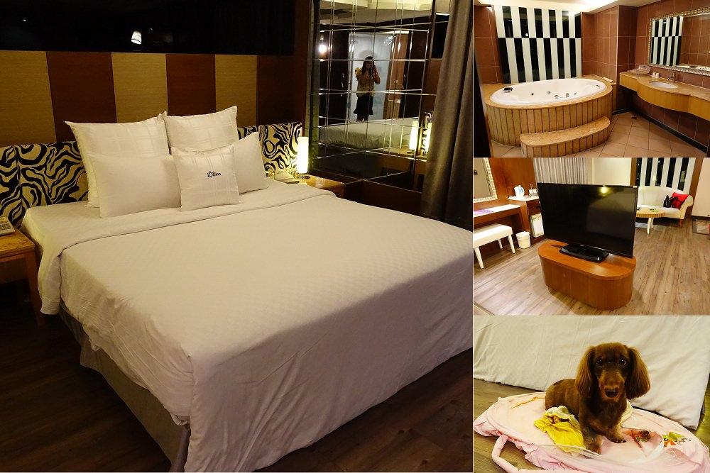 桃園住宿》168Motel汽車旅館。平價乾淨舒適可以帶寵物一起入住。