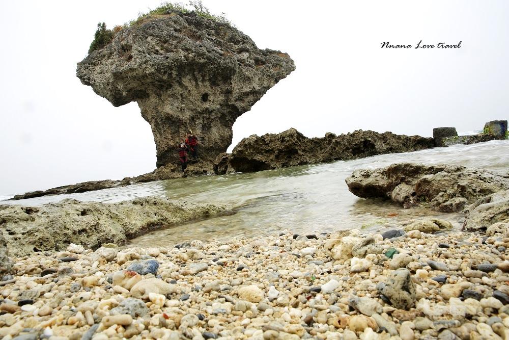 屏東小琉球》小琉球花瓶岩。珊瑚礁岩長的很像花瓶?(浮潛熱門景點)