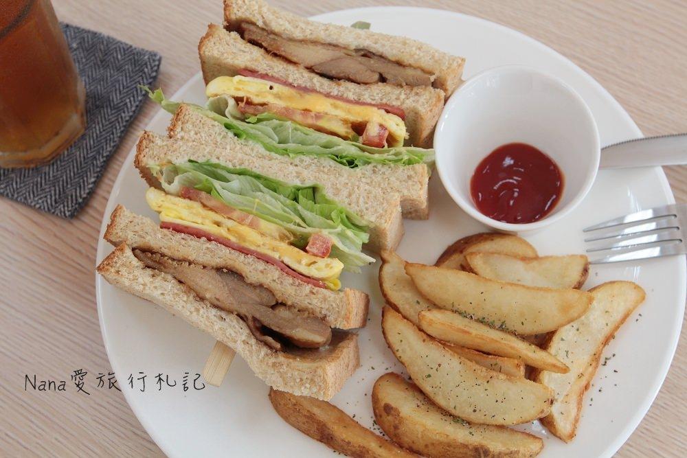 台中太原》香郡Shiny Dream早午餐,巷弄早午餐美味豐富份量多,cp值高照燒雞腿排總匯三明治(已歇業)