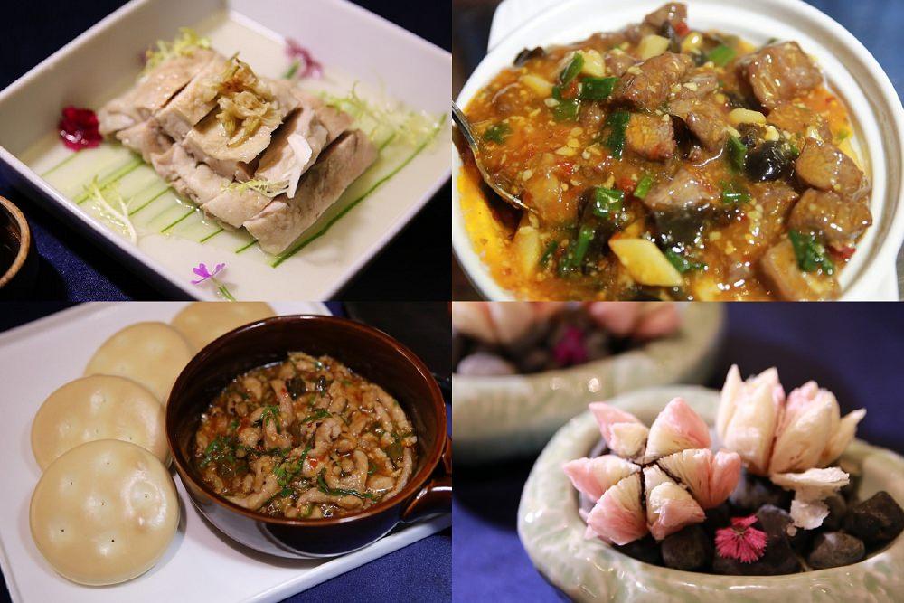 台中公益路》炎香閣。中國八大菜系,創新與傳統的新中華料理,年菜圍爐,尾牙春酒推薦