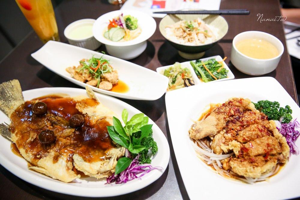 嘉義市美食》轉角8號店。轉角遇見白色夢幻餐廳,賣的不是義式而是中式料理