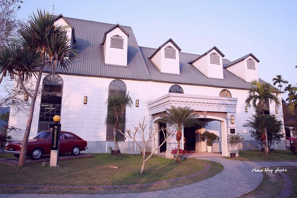 南投魚池景點》廖鄉長紅茶故事館。歐式建築故事館,浪漫風格宛如置身國外