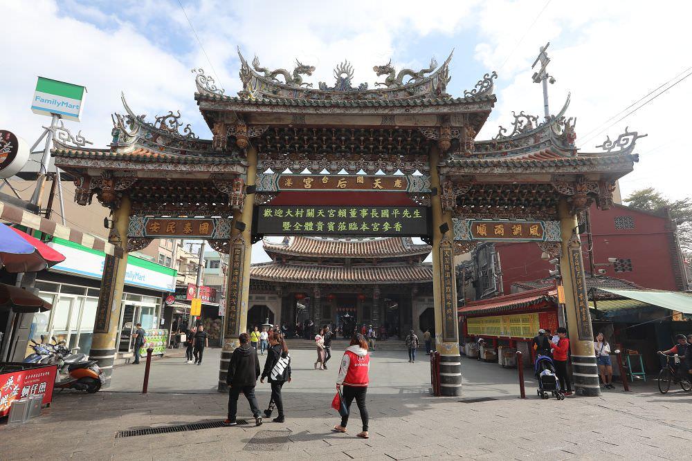 彰化鹿港》鹿港天后宮。國定古蹟殿宇,台灣唯一奉祀湄洲祖廟開基媽祖神尊的廟宇
