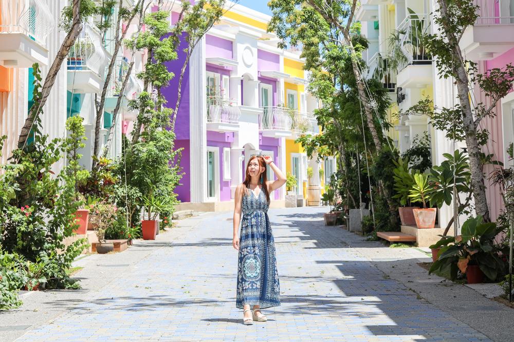 墾丁夢幻島》沉靛旅宿 La Casa Indaco 夢幻島度假別墅。就像在威尼斯!夢幻彩色屋超好拍;寵物友善住宿