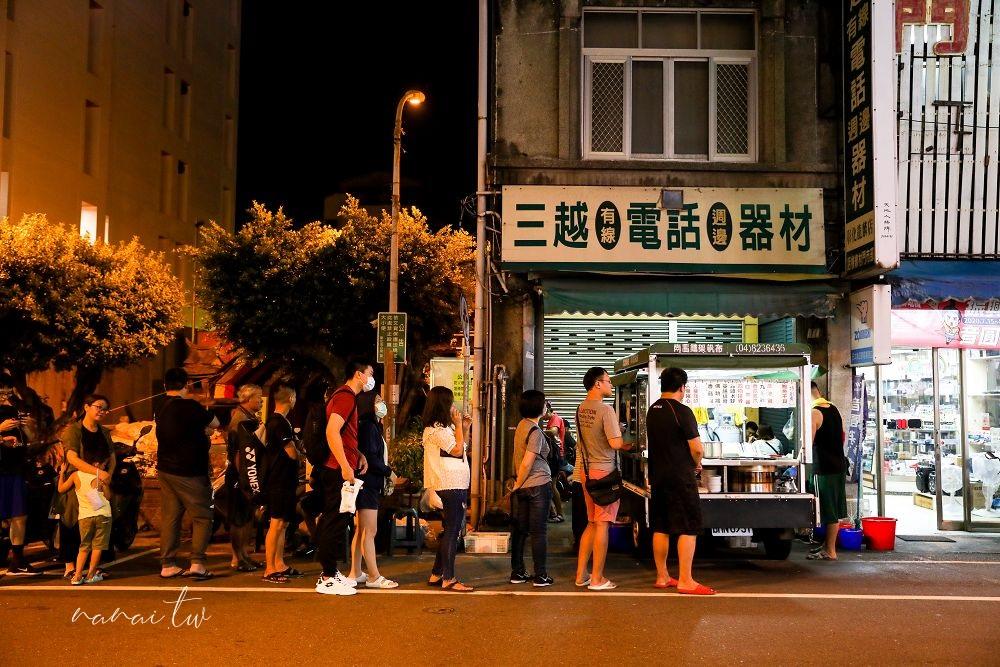 彰化市|永樂夜市關帝廟無名蘿蔔糕。太早來吃不到,太晚到就賣光