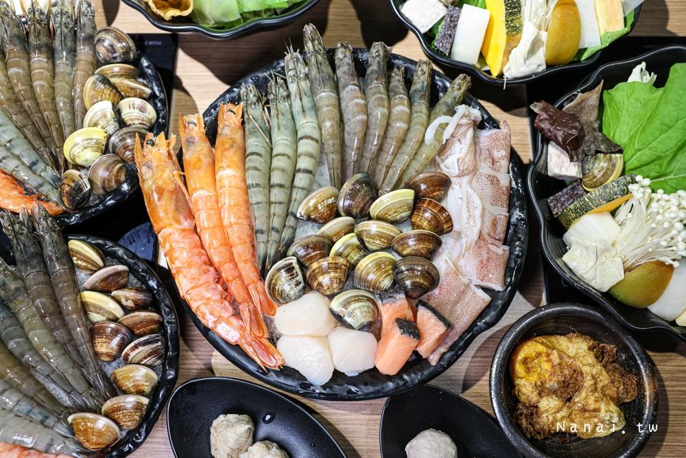 良食煮意有機鍋物|浮誇痛風三人分享套餐,蝦蝦拼盤買一送一,有機葉菜吃到飽