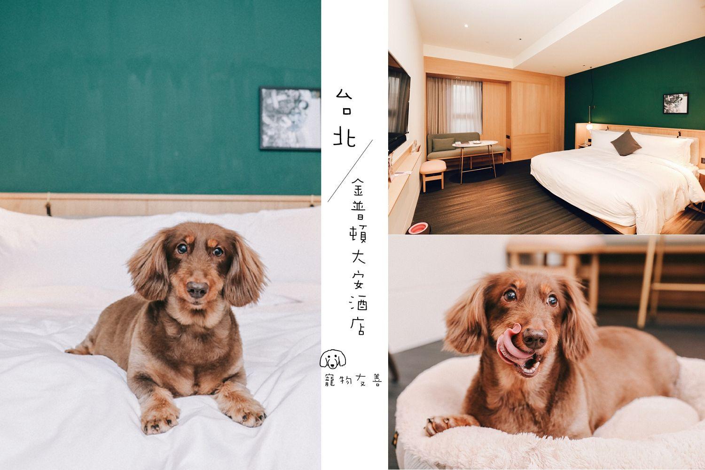 金普頓大安酒店 Kimpton Da An Hotel:毛小孩最奢華的高級酒店,寵物友善住宿