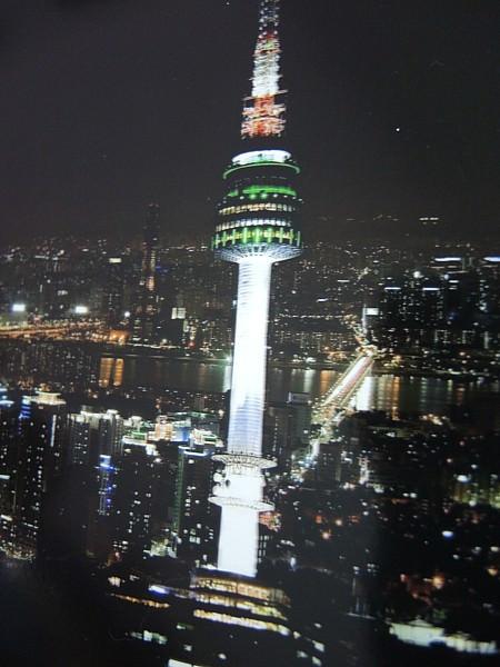 【韓國四天三夜旅遊景點】Day1►N首爾塔.情侶約會最佳賞夜景之旅