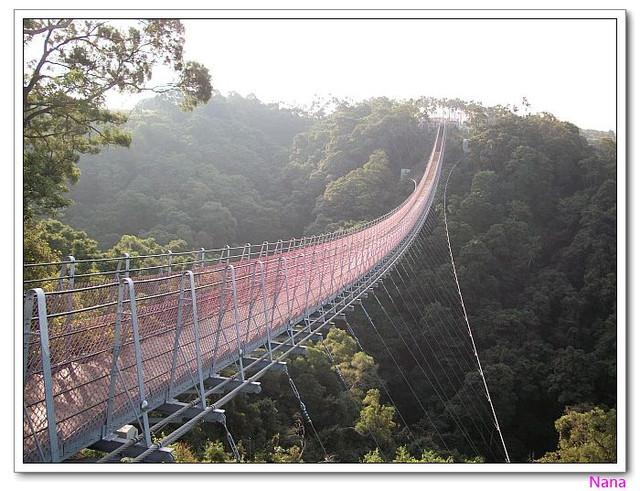 【南投市旅遊景點】南投139縣道猴探井天空之橋.山林間對著世界在微笑