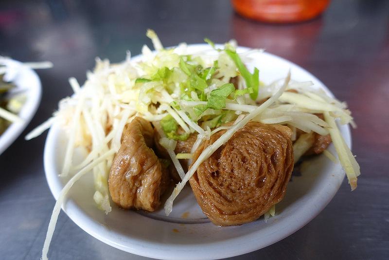 彰化員林-大慶商工旁無名素食麵 (7)
