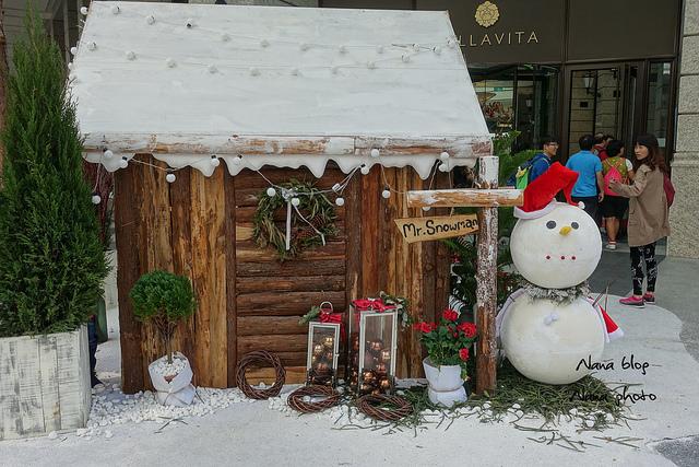 台北BELLAVITA貴婦百貨聖誕節活動 (1)