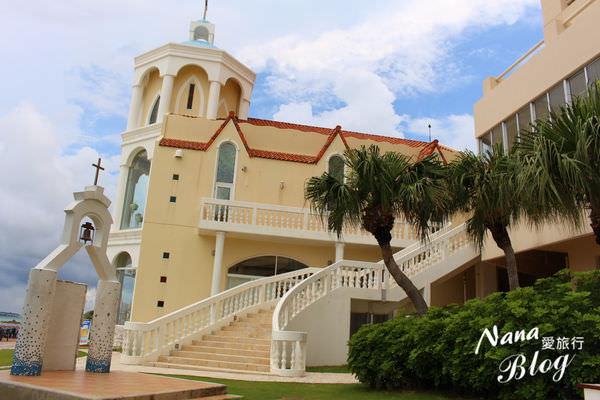 【日本沖繩那霸島】城堡式建築,夢幻婚禮的場地❤沖繩婚禮教堂