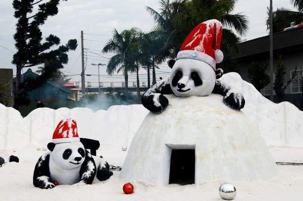 【台南北門】全台獨一無二最鹹最白的聖誕節❤2013台南北門白色聖誕節