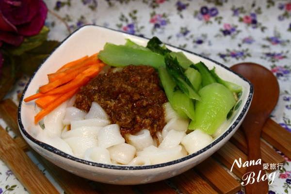 【苗栗後龍美食】客家庄的老味道傳統平價美食,客家風味粄條❤栗園米食。後龍美食/後龍景點