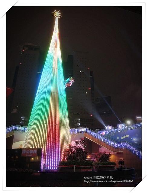 【台北景點】新北市歡樂耶誕城。冬季星空、閃亮耀眼